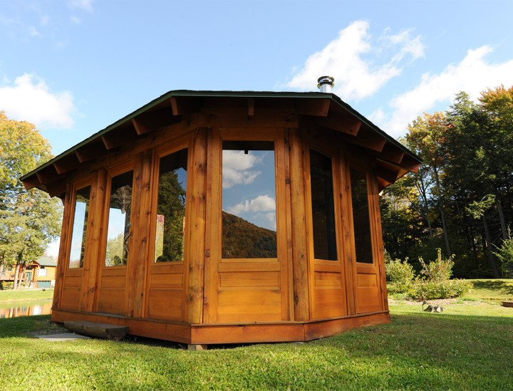 Jefferson Log Gazebo